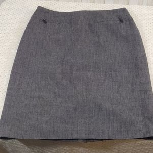 ⭐ 3/$15 Apostrophe Stretch Grey Pencil Skirt